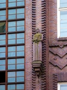 Detail Of Façade Of AOK Building