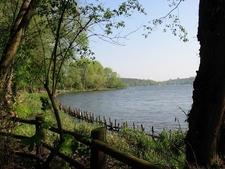 Havel River In Grunewald At Schildhorn
