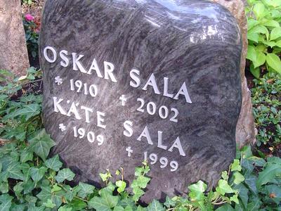Grave Of Oskar Sala