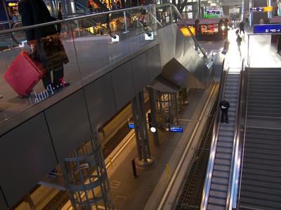 Interior Of The Berlin Hauptbahnhof