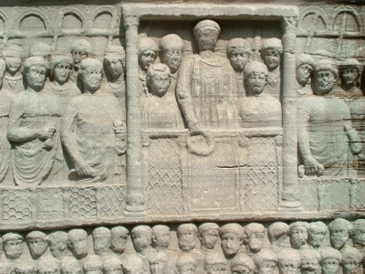The Base Of The Obelisk Of Thutmose III