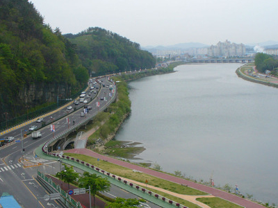 Jinju And The Nam River