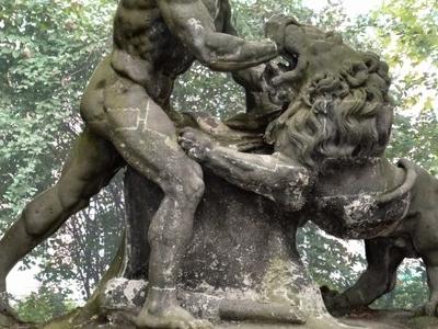 Hercules Fighting The Nemeian Lion