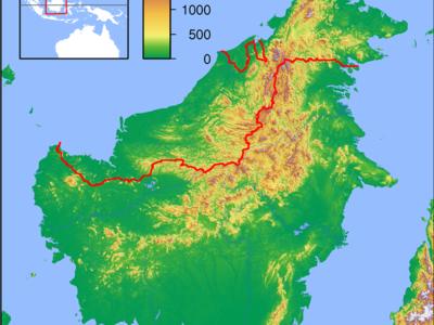 Kota Marudu Is Located In Borneo Topography