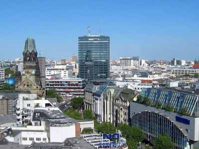 View Over Kurfürstendamm