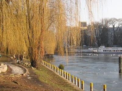 Waterside Of The Landwehrkanal In Kreuzberg
