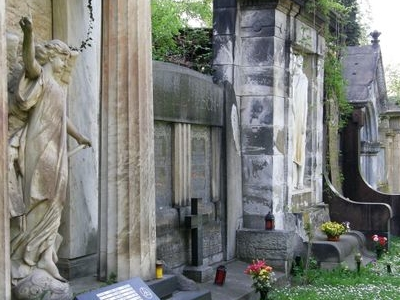 Another View Of Cemetery