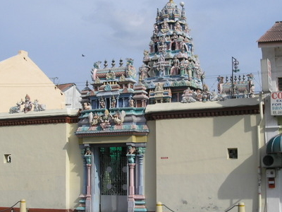 Mahamariamman Temple Back Entrance