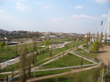 Mauerpark Seen From East To West