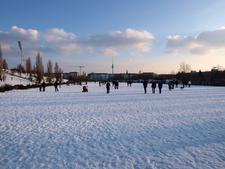 Mauerpark In Winter