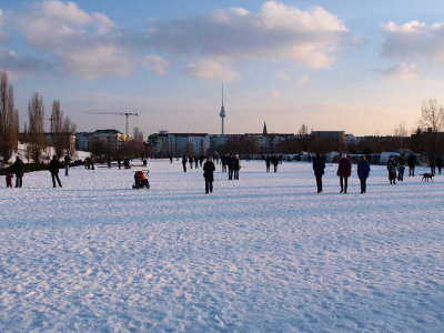 Mauerpark In Winter