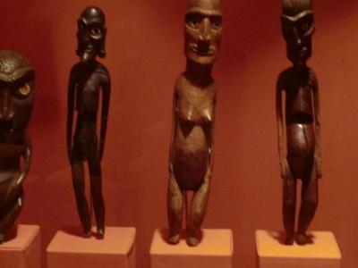Moai Kavakava From Easter Island
