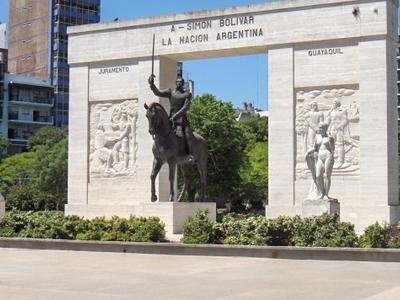 Monument To Simón Bolívar, Rivadavia Park