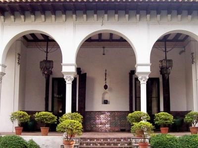 Museo De Arte Español Enrique Larreta Entrance