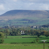 Pendle Hill From The Ribble Valley