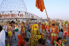 People At The Kazantip Music Festival In 2007