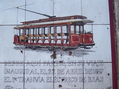 First Electric Tram Of The City