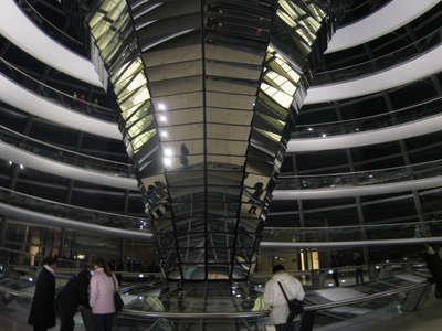 Interior Of The Dome At Night