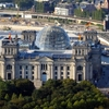 The Reichstag Building With Its Glass Dome