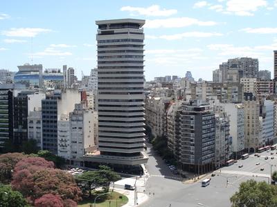 Retiro-Area Highrises Along The Avenue