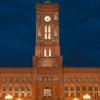 Rotes Rathaus At Night