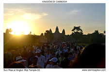 Sun Rise At Angkor Wat Temple 03