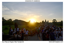 Sun Rise At Angkor Wat Temple 02