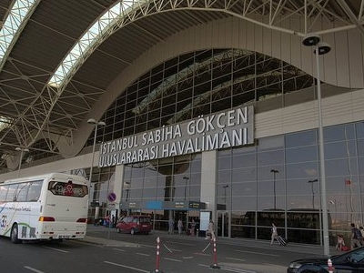 Entrance Of Sabiha Gökçen International Airport