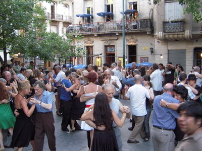 YSunda Afternoon Tango At Plaza Dorrego
