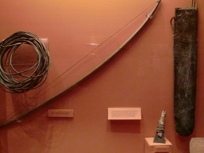 Bow And Tools Of The Selknam People