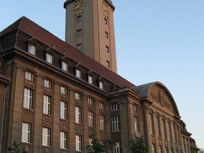 View Of Spandau Rathaus