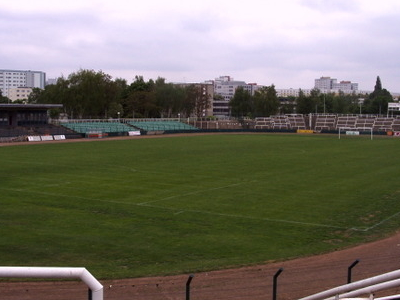 The Dynamo Stadium At The Sportforum