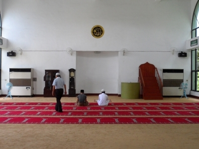 Taichung  Mosque     Prayer  Hall