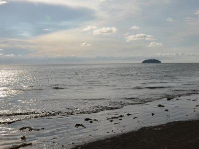 Tanjung  Aru  Beach And The  Islands