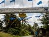 The Main Road Gate To Kalabakan Town.