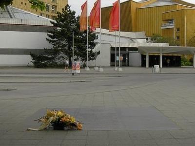 Bus Terminal At The Philharmonie