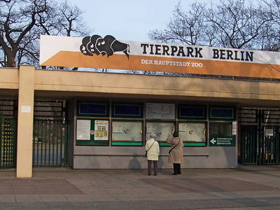 Tierpark  Berlin Main Entrance