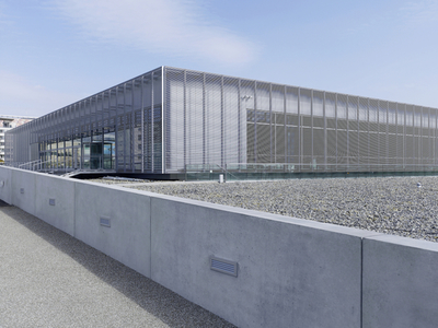 The New Building Of The Topography Of Terror