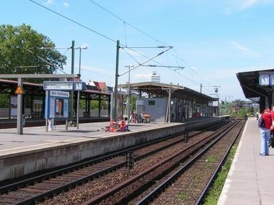 Berlin-Charlottenburg Station Platforms
