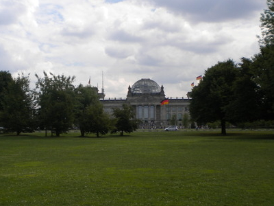 Trees And Grass In Republick Platz