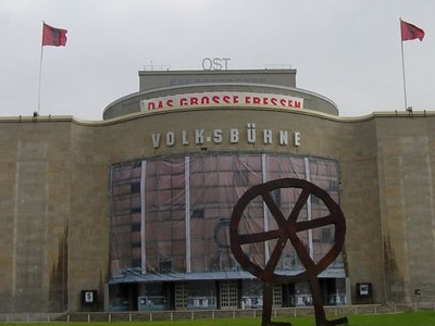 The Volksbühne At Rosa-Luxemburg-Platz