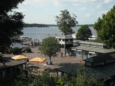 Lake From Wannsee Railway Station