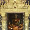 Wat Xieng Thong Golden Wall