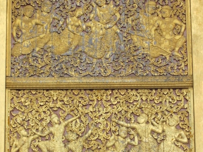 Wat  Xieng  Thong  Golden  Stupa