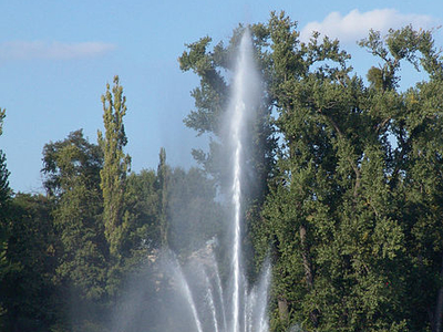 Weisser See Fountain