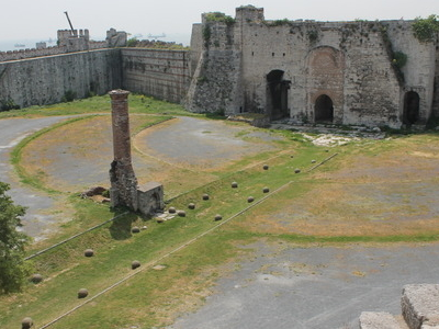 Ruins In The Inner Courtyard