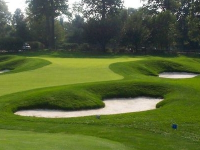 18th Green At Meadowlands  Country  Club