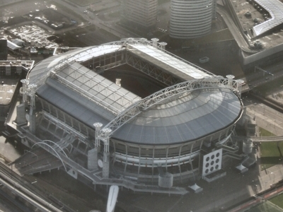 Amsterdam Arena Roof Open