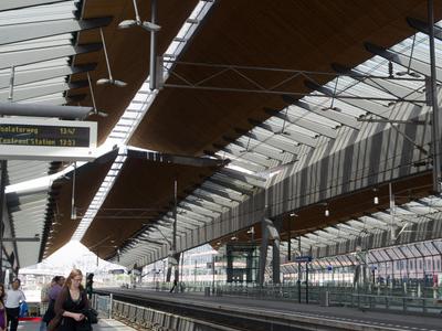View From Metro Platform