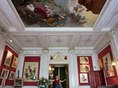 Restored 17th-Century Ceiling Painting